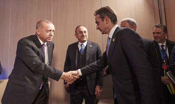 Μητσοτάκης για συνάντηση με Ερντογάν: Δυσκολίες με την Τουρκία υπήρχαν και θα υπάρχουν