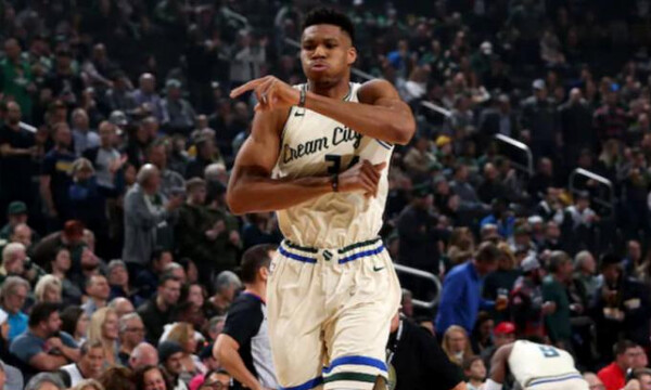 NBA: Κάνουν πλάκα Μπακς και Αντετοκούνμπο (photos+video)
