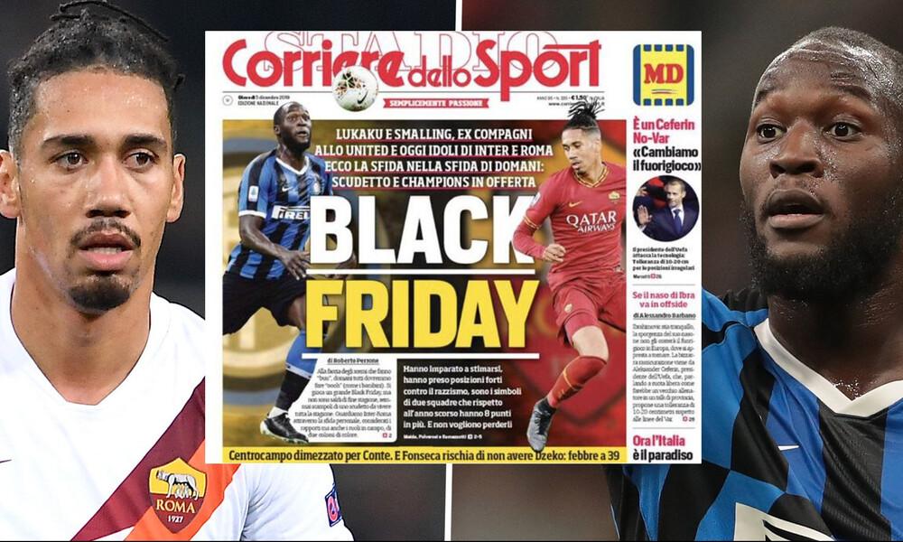 Σάλος με το ρατσιστικό πρωτοσέλιδο της Corriere dello Sport - Σκληρή αντίδραση από Μίλαν και Ρόμα