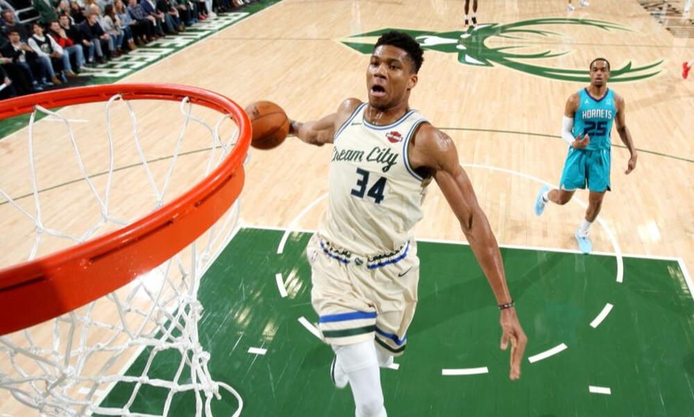 NBA: Νέο τρομερό ρεκόρ για τον Αντετοκούνμπο (photo)