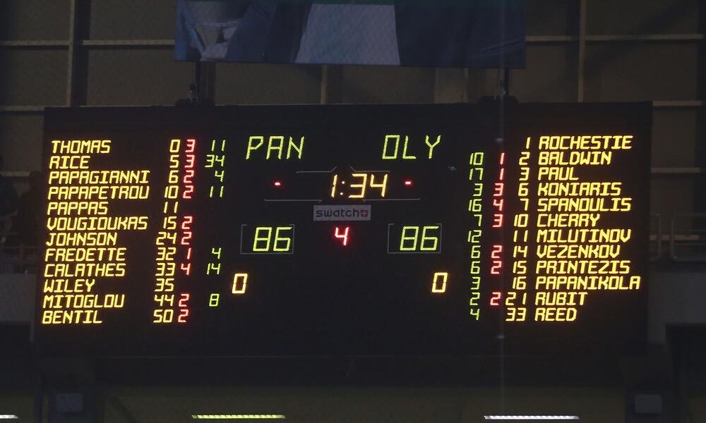 Euroleague: Ακάθεκτος ο Παναθηναϊκός ΟΠΑΠ, υποχώρησε ο Ολυμπιακός (photo)