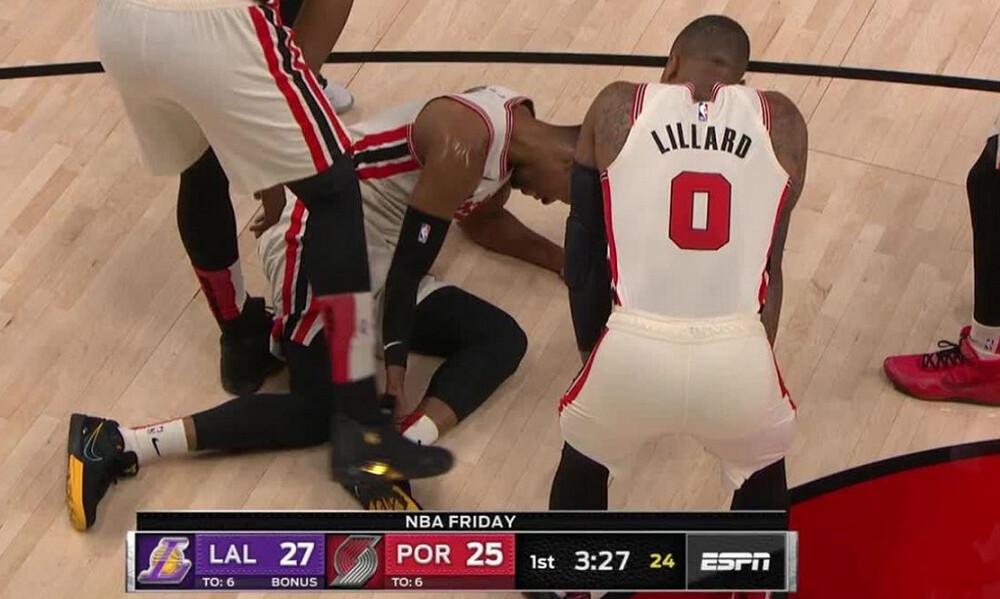 NBA: Ρήξη αχίλλειου και τέλος η σεζόν για τον Ρόντνεϊ Χουντ! (video)