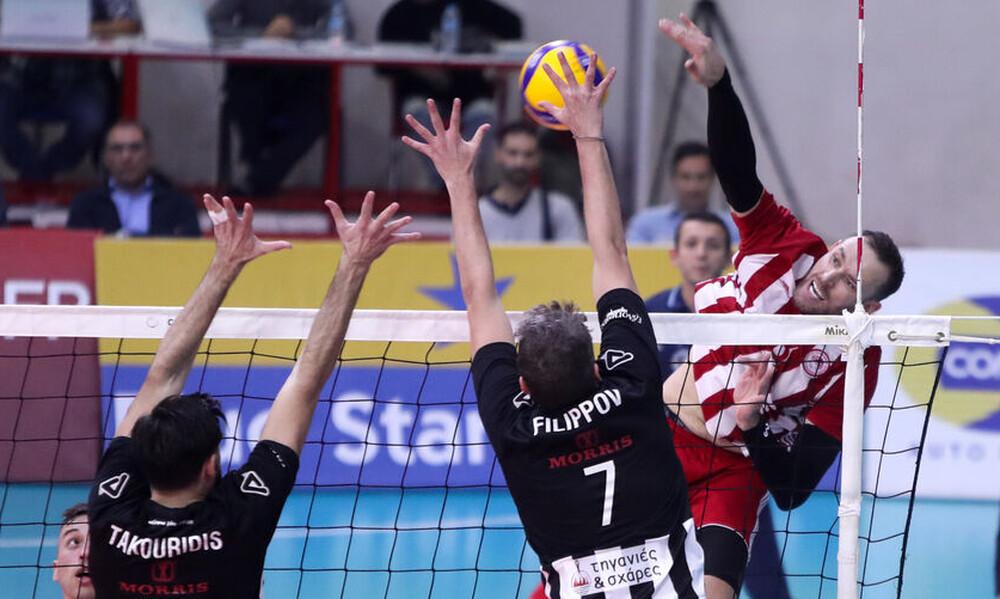 Volley League: Εντός έδρας παιχνίδια για Ολυμπιακό και ΠΑΟΚ