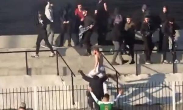 Γ' Εθνική: Επεισόδια και οριστική διακοπή στην Αγκαθιά (video)