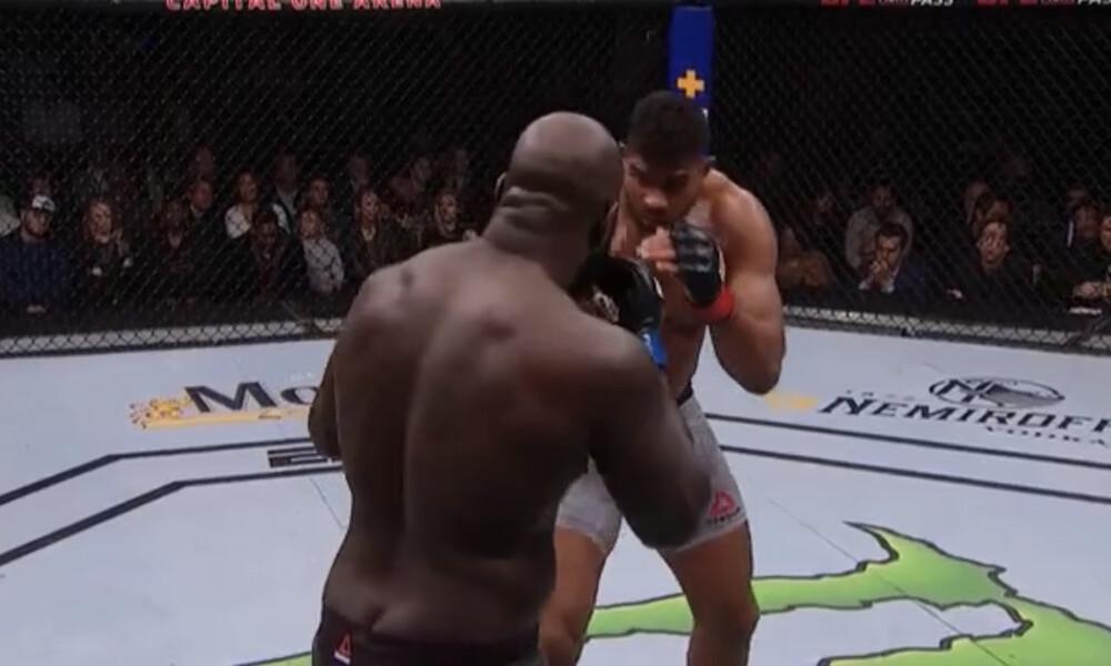 Απίστευτο ξύλο και σοκαριστικός τραυματισμός σε αγώνα UFC (σκληρές εικόνες)