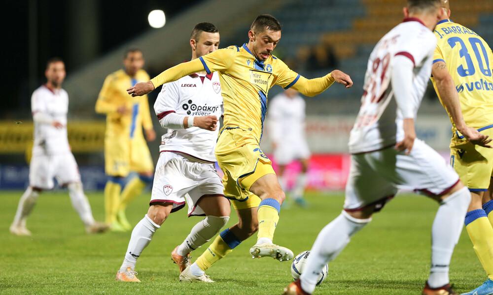Αστέρας Τρίπολης-ΑΕΛ 1-1: Τα γκολ και οι φάσεις του αγώνα (video)