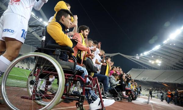 ΑΕΚ: Ευχαρίστησε την Ελληνική Παραολυμπιακή Επιτροπή (photos)