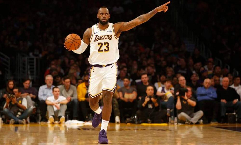 NBA: Η κορυφή ανήκει στον «Βασιλιά»! (video)