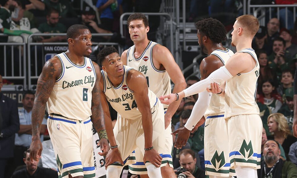 NBA: Σάρωσαν και τους Μάτζικ οι Μπακς με σούπερ Giannis (photos+video)