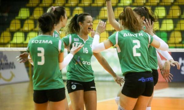 Παναθηναϊκός – Πορφύρας 3-0: Ασταμάτητα τα «Φίνα Κορίτσια» (video+photos)