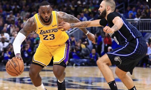NBA: Συνέχισαν με νίκες Λέικερς, Ρόκετς και Κλίπερς! (photos+videos)