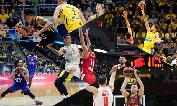 Euroleague: Η ανατροπή της Μακάμπι και η νίκη στον «εμφύλιο» της Εφές (videos)