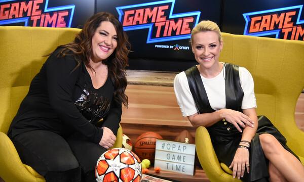 Η Κατερίνα Ζαρίφη παίζει μεγάλη μπάλα στο Game Time του ΟΠΑΠ