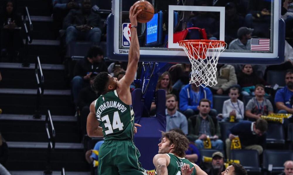 NBA: Ο Αντετοκούνμπο αγρίεψε και δάμασε τους Γκρίζλις (photos+video)