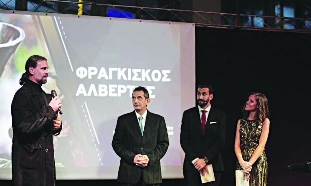 Τιμήθηκαν Αλβέρτης και Παναθηναϊκός στην «Βραδιά των Άσσων» (photos)