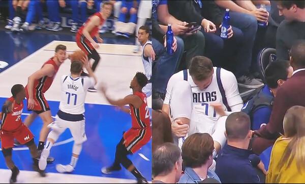 NBA: «Τρόμαξαν» με Ντόντσιτς! (video)