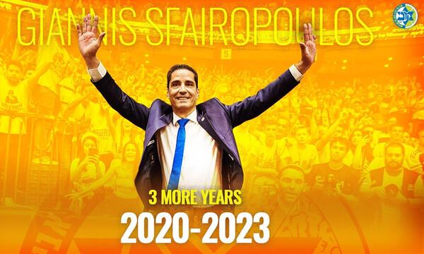 Μακάμπι Τελ Αβίβ: Ανανέωσε ο Σφαιρόπουλος ως το 2023 (photo)