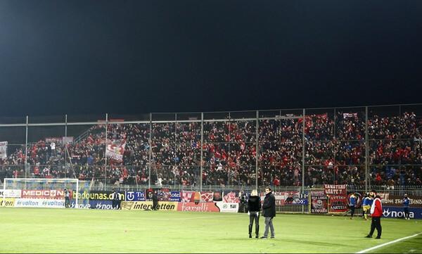 Αστέρας Τρίπολης-Ολυμπιακός: Κόκκινη... κατάληψη στο «Θ. Κολοκοτρώνης» (photos)