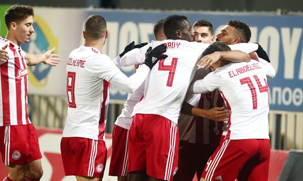 Αστέρας Τρίπολης-Ολυμπιακός: Τα γρήγορα «ερυθρόλευκα» γκολ (photos)