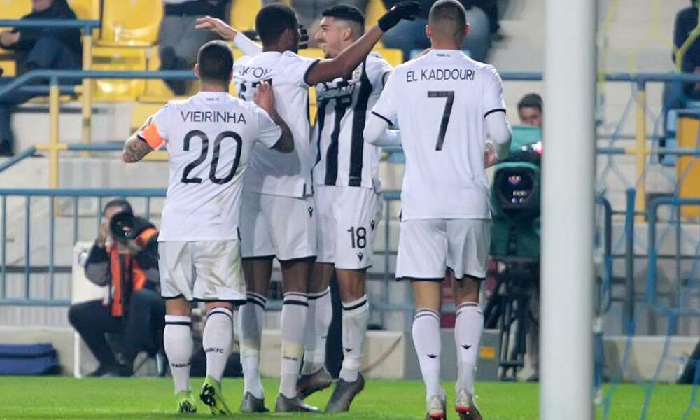 Παναιτωλικός-ΠΑΟΚ 0-3: Πέρασε σαν... σίφουνας από το Αγρίνιο! (photos)