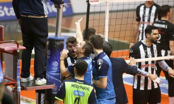 Volley League: Οριστική διακοπή στο Ηρακλής-ΠΑΟΚ (photos)