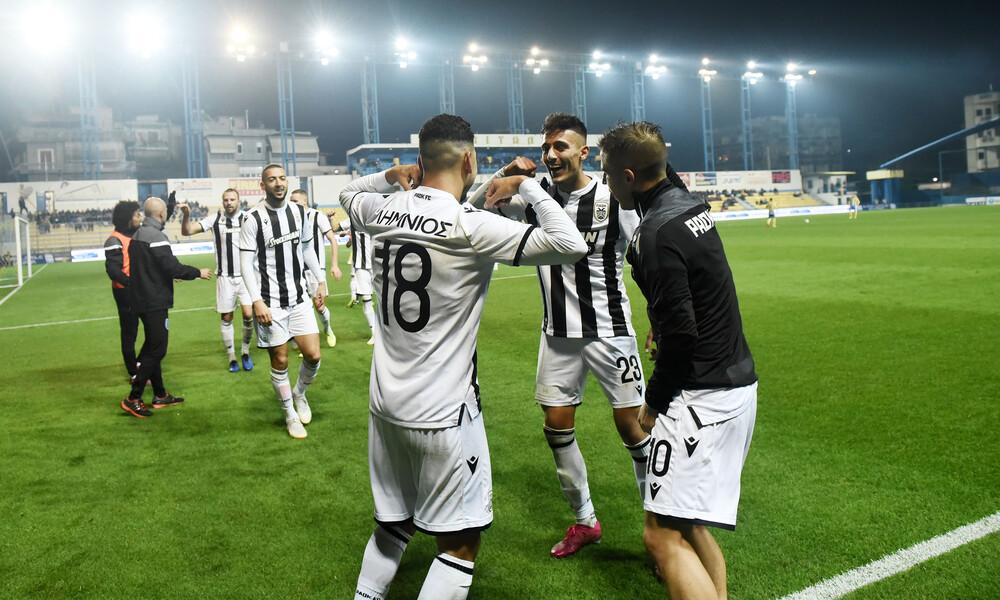Παναιτωλικός-ΠΑΟΚ 0-3: Το «ασπρόμαυρο» πέρασμα από το Αγρίνιο (photos+video)