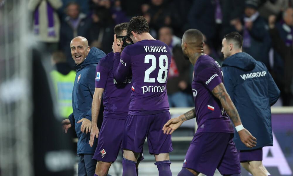 Serie A: Η Φιορεντίνα σόκαρε την Ίντερ!