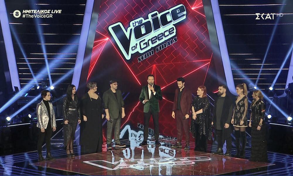 The Voice: Αυτοί είναι οι νικητές του δεύτερου ημιτελικού που πάνε τελικό! (photos+video)