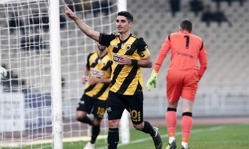 LIVE CHAT AEK-Αστέρας Τρίπολης 2-1 (τελικό)
