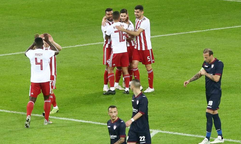 Ολυμπιακός-ΑΕΛ 4-1: Την «σκόρπισε» με σούπερ Μασούρα! (photos)