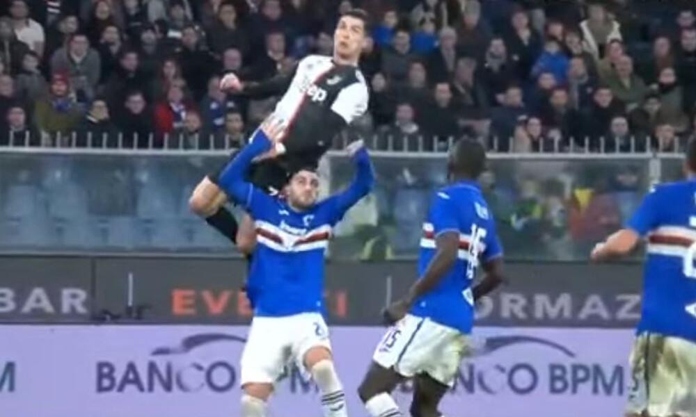Ο Ρονάλντο πηδάει… 2,62μ. και γίνεται viral από τη Γιουβέντους! (video+photos)