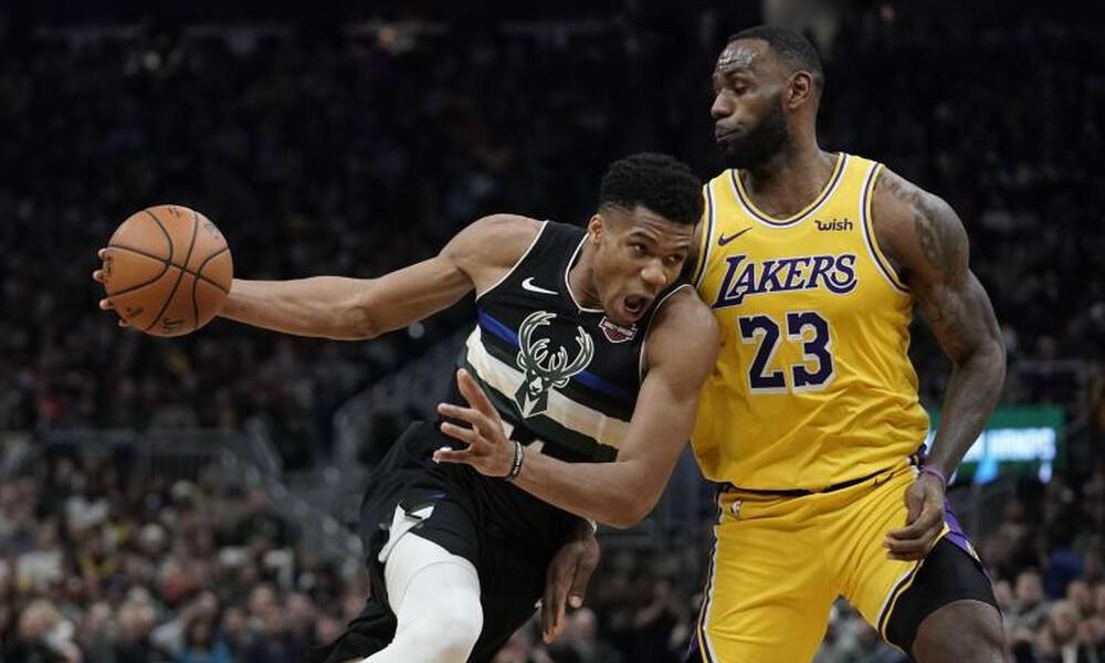 NBA: Απίθανος Αντετοκούνμπο, κέρδισε μόνος του τους Λέικερς! (video+photos)