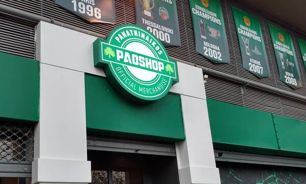 Λαμπρά εγκαίνια του νέου PAO Shop στη Λεωφόρο (videos+photos)