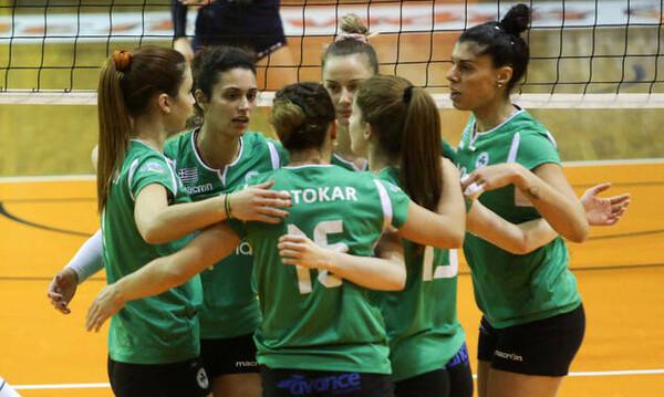 Παναθηναϊκός-Ηλιούπολη 3-0: Εύκολα και ωραία τα «φίνα κορίτσια»
