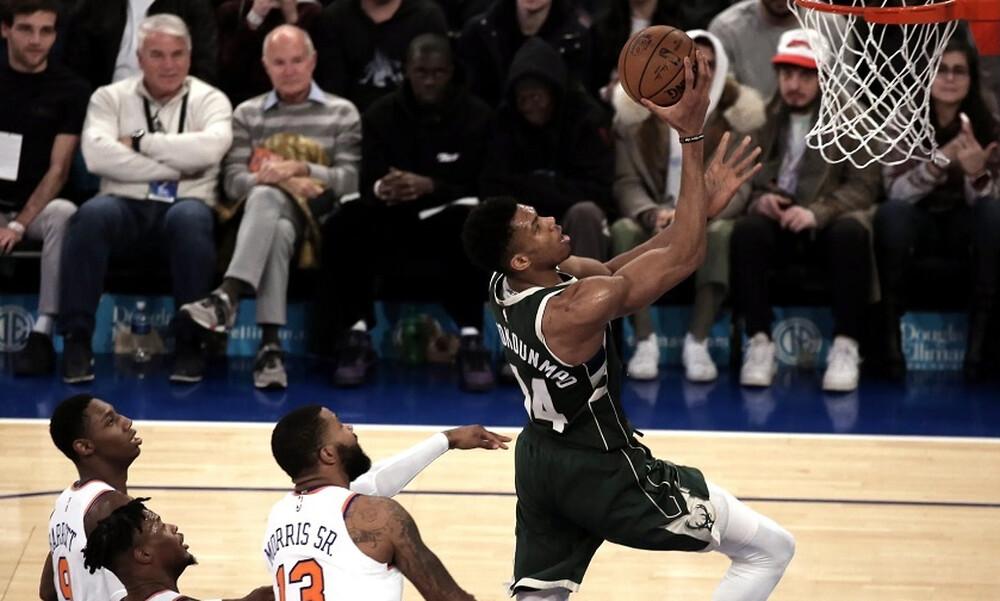 NBA: Μαγικός Γιάννης, ασταμάτητοι Μπακς (photos+video)