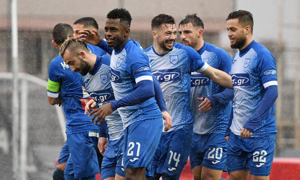 Super League 2: Χόρευε στη βροχή ο ΠΑΣ Γιάννινα