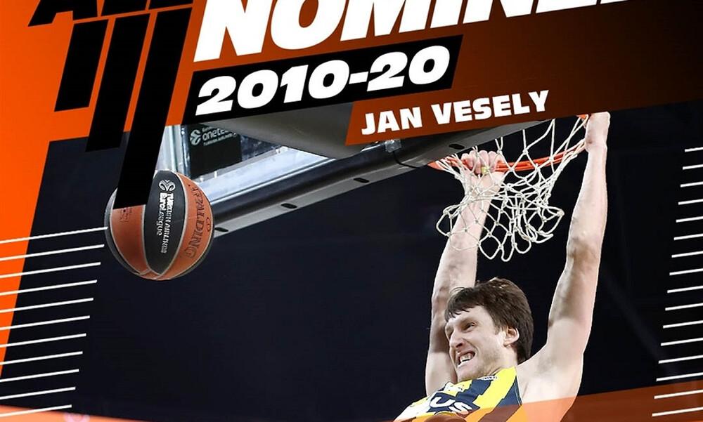Euroleague: Υποψήφιος για την καλύτερη ομάδα της 10ετίας ο Βέσελι (video)