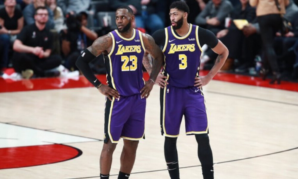 NBA: Αμφίβολοι οι Λεμπρόν-Ντέιβις για το ματς των Χριστουγέννων!