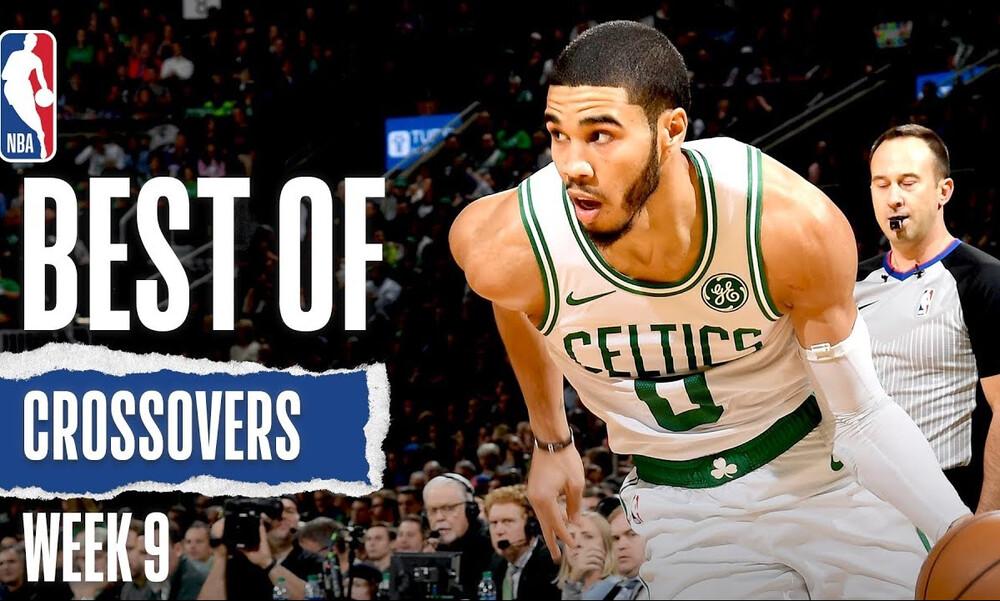 NBA: Τα καλύτερα crossovers της εβδομάδας (video)