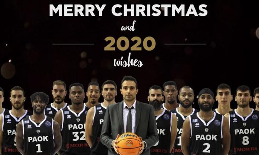 ΠΑΟΚ: Οι Χριστουγεννιάτικες ευχές (photo)