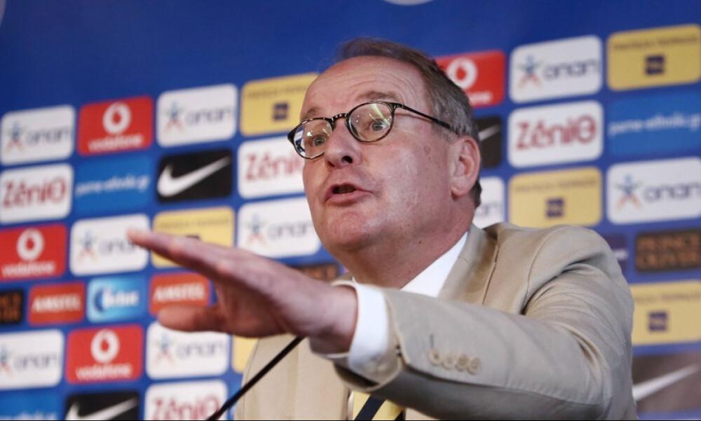Χούμπελ: «Δεν μπορώ να κρύψω την ανησυχία μου για το μέλλον του ελληνικού ποδοσφαίρου»!