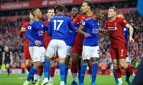 Premier League: Αποφασισμένη Λέστερ να βάλει δύσκολα στη Λίβερπουλ