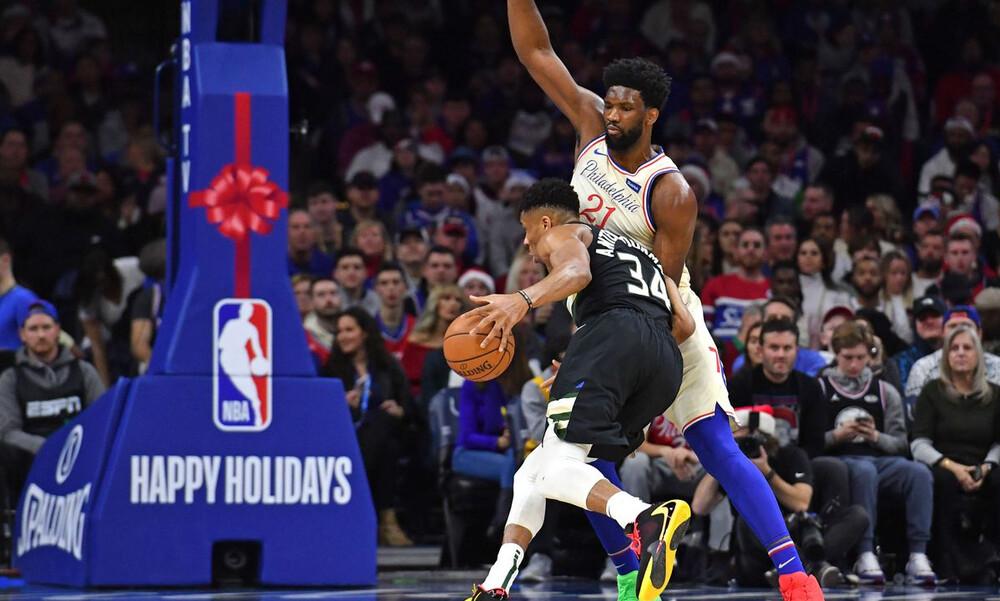 NBA: Λύγισαν στη Φιλαδέλφεια Μπακς και Γιάννης (photos+video)