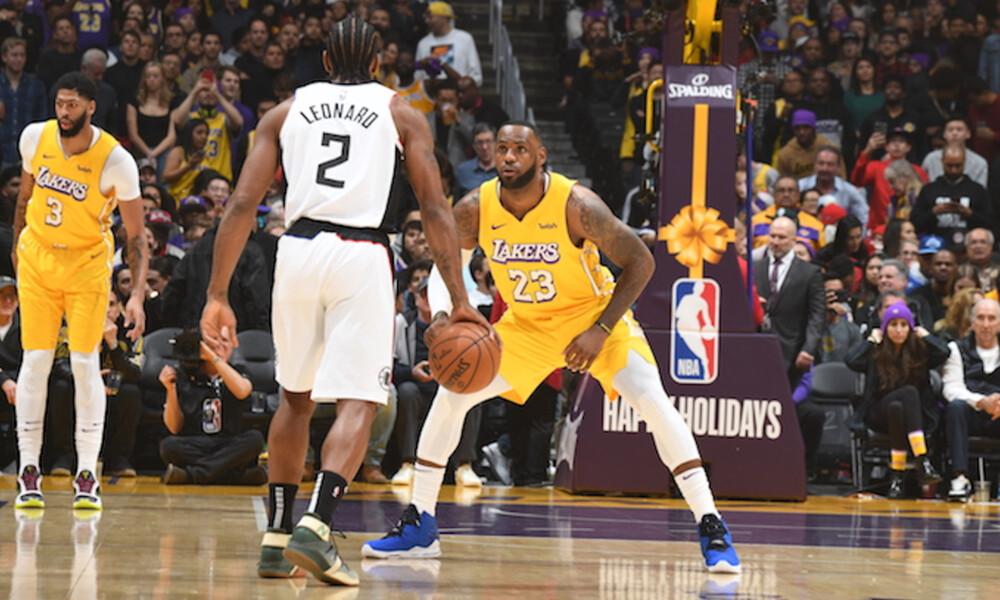 NBA: Νικητές στο ντέρμπι του L.A. οι Κλίπερς! (photos+video)