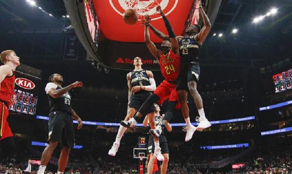 NBA: Με κέφια ο Θανάσης απέναντι στους Χοκς (video)
