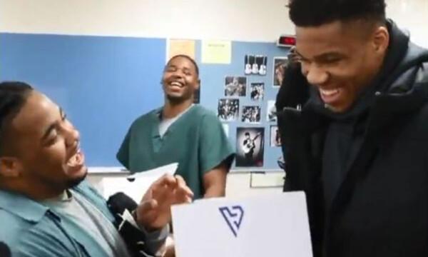 NBA: Σπουδαία κίνηση από τα αδέλφια Αντετοκούνμπο (video)