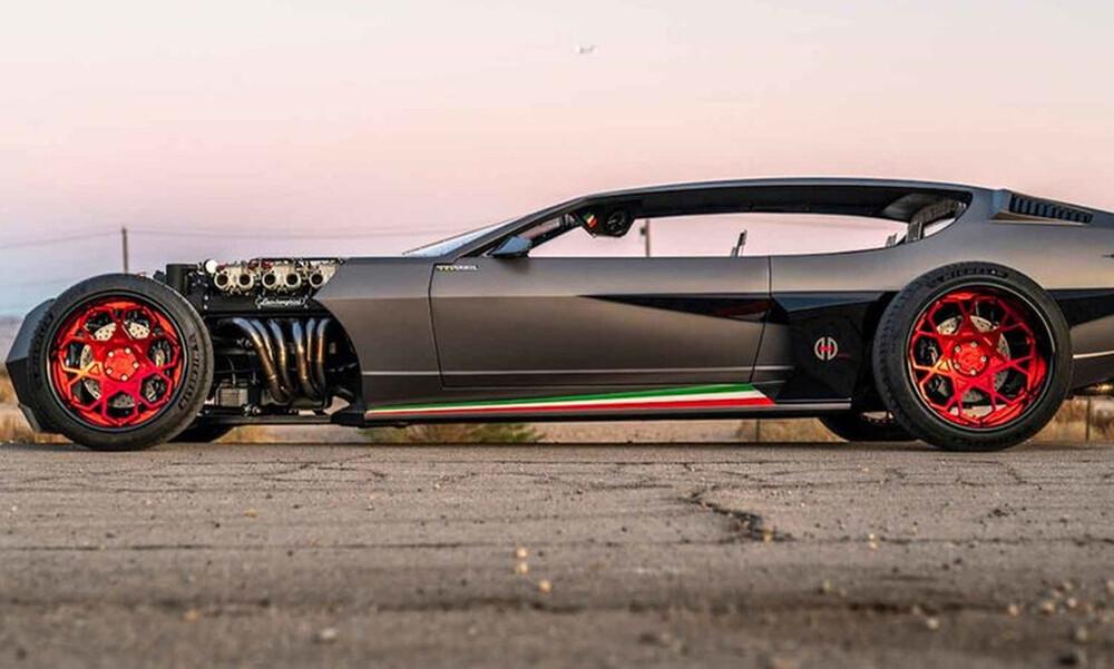 Η γυμνή διαμαρτυρία της Lamborghini Espada
