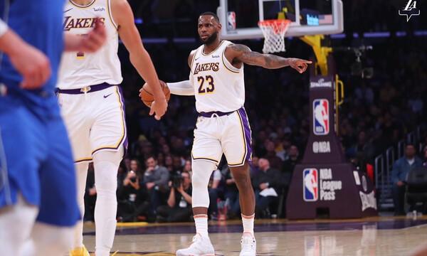 NBA: Σάρωσαν οι Λέικερς, απίστευτο ρεκόρ για ΛεΜπρόν (video)