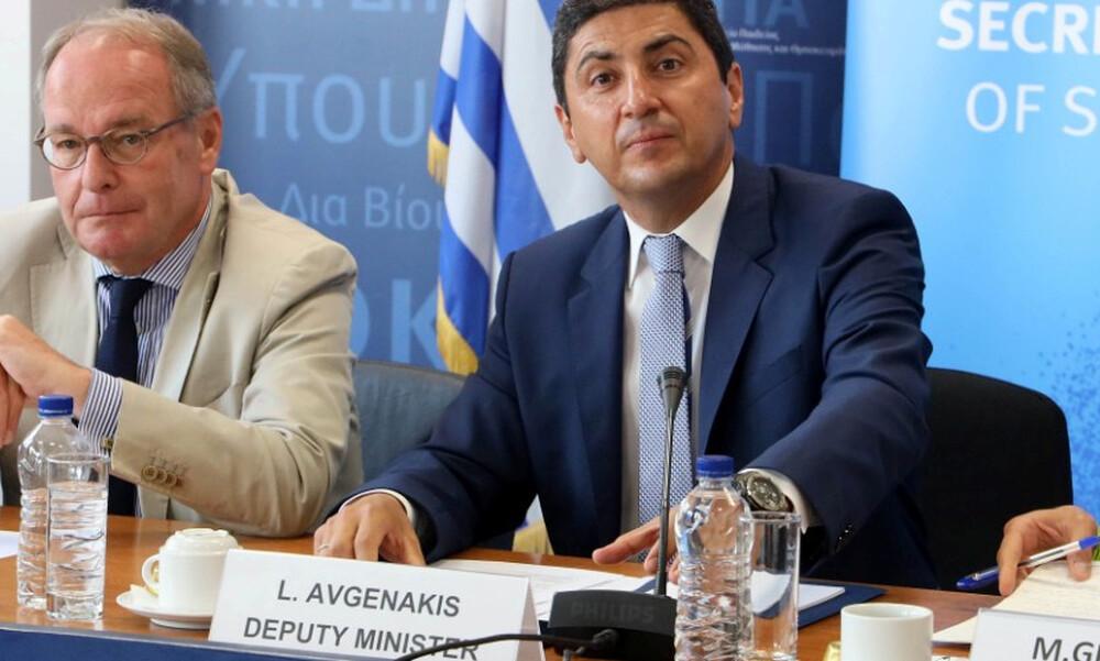Αυγενάκης: «Το 2020 θα είναι αξέχαστο αθλητικά»