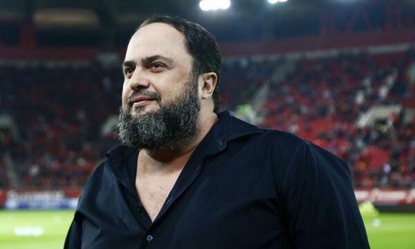 Μαρινάκης: «Ο Ολυμπιακός να πάρει το πρωτάθλημα»